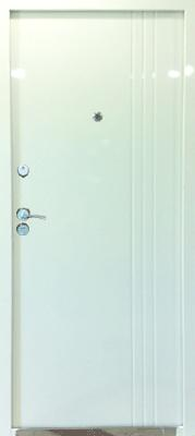 sigurnosna vrata 3 liner bela