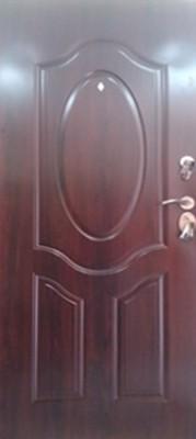 sigurnosna vrata elipsa mahagony sa dve brave