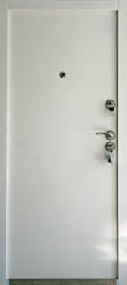sigurnosna vrata bela ravna