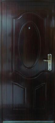sigurnosna vrata elipsa braon