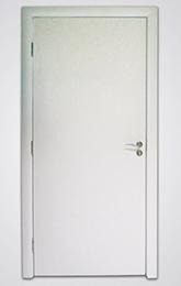 sobna vrata ravna bela