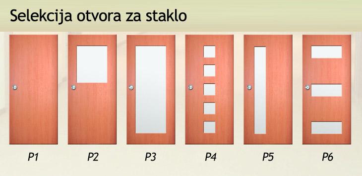 selekcija otvora