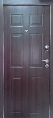 sigurnosna vrata braon