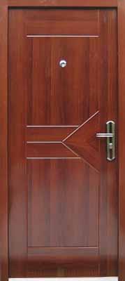 sigurnosna vrata triangle mahagony